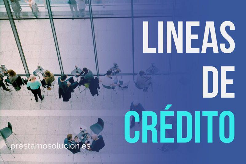 Lineas de crédito para empresas